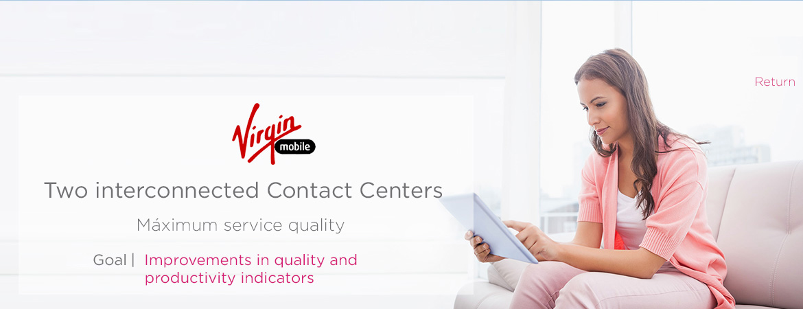 Two interconnected Contact Centers with the maximum quality attention
