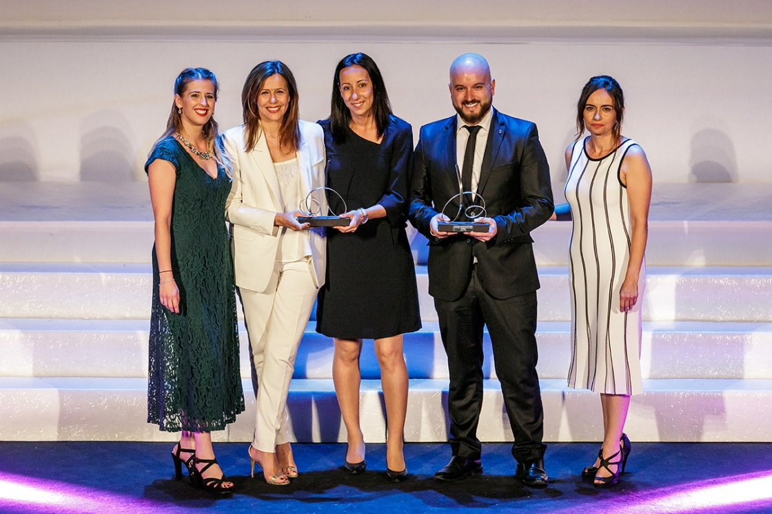 Danone and Unisono awarded with Best Customer Experience in Industry sector