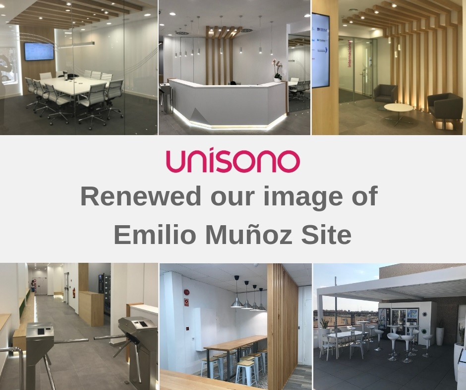 Unisono renews its Emilio Muñoz site