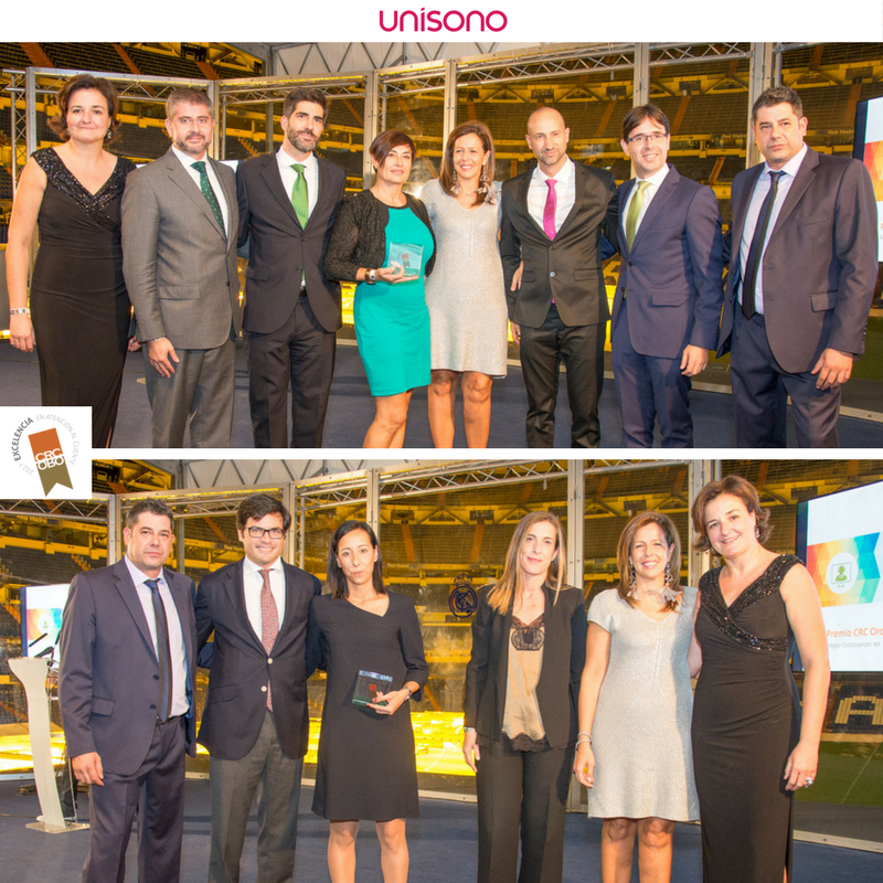 Unisono Group receives two awards in CRC Gold Awards 2017